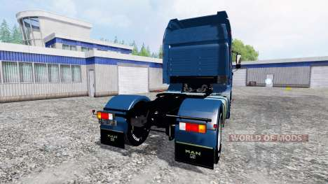 MAN F2000 19.603 FLS v1.4 for Farming Simulator 2015