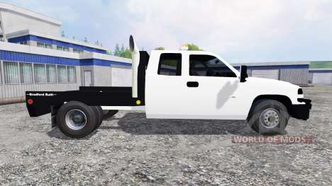 Chevrolet Silverado Flatbed for Farming Simulator 2015