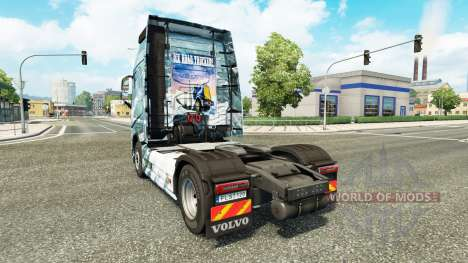 Ice Road skin for Volvo truck for Euro Truck Simulator 2