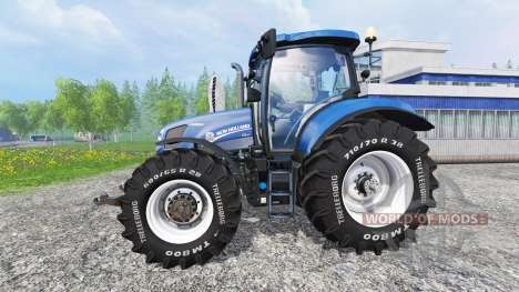 New Holland T6.175 v1.2 for Farming Simulator 2015