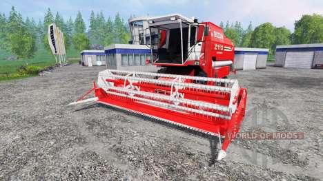 Bizon BS Z-110 for Farming Simulator 2015