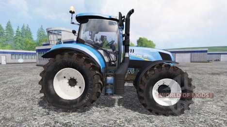 New Holland T7.240 v2.0 for Farming Simulator 2015