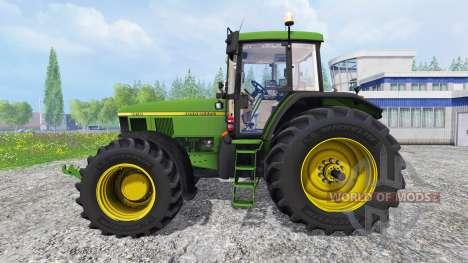 John Deere 7710 for Farming Simulator 2015