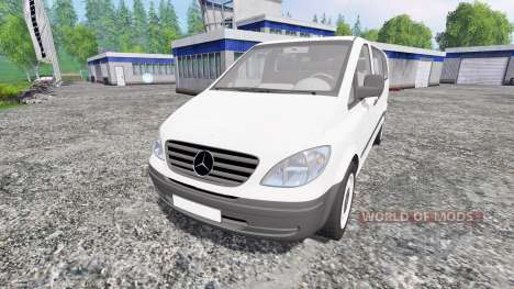 Mercedes-Benz Viano 2005 for Farming Simulator 2015