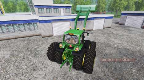 John Deere 6930 FL v2.2 for Farming Simulator 2015