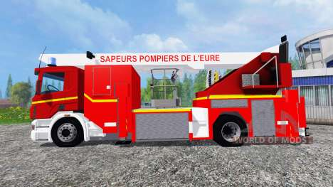 Scania P420 BEA [sapeurs-pompiers] for Farming Simulator 2015