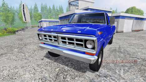 Ford F-100 1970 for Farming Simulator 2015