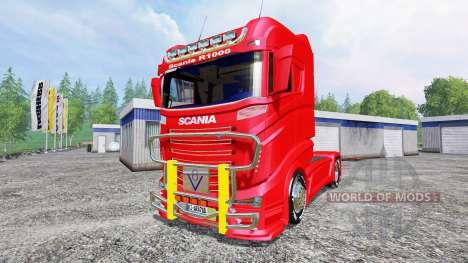 Scania R1000 for Farming Simulator 2015