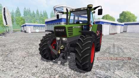 Fendt Favorit 515C [washable] v3.0 for Farming Simulator 2015