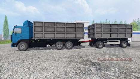 MAZ-630308 [trailer] for Farming Simulator 2015