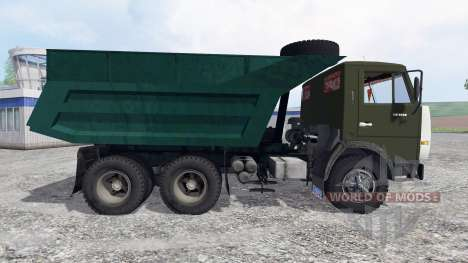 KamAZ-55111 for Farming Simulator 2015