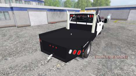 Chevrolet Silverado Flatbed for Farming Simulator 2015