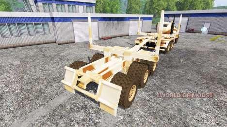 Hayes HDX [desert camo] for Farming Simulator 2015