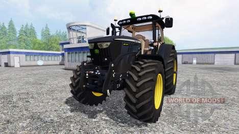 John Deere 6210R [black edition] for Farming Simulator 2015