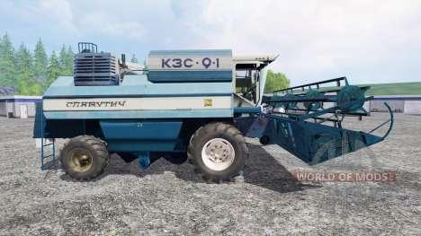 KZS-9-1 Slavutich v2.0 for Farming Simulator 2015