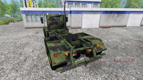 Hayes HDX [camo] for Farming Simulator 2015