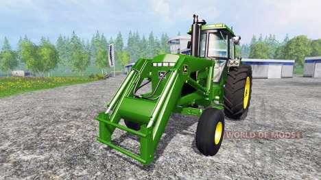 John Deere 4455 v2.2 for Farming Simulator 2015