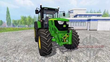 John Deere 6115M for Farming Simulator 2015
