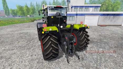 CLAAS Xerion 5000 v2.0 for Farming Simulator 2015