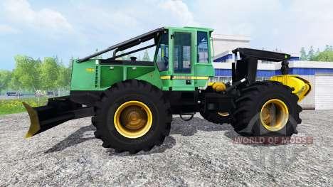 John Deere 748H v1.1 for Farming Simulator 2015