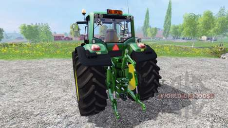 John Deere 6930 v3.3 for Farming Simulator 2015