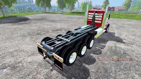 Kenworth W900B v1.1 for Farming Simulator 2015