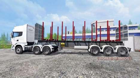 Scania R730 for Farming Simulator 2015