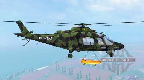 Agusta A.109 [camo] for Farming Simulator 2015