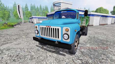 GAZ-53 [zernotrans] for Farming Simulator 2015