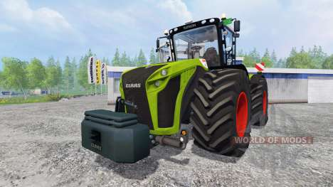 CLAAS Xerion 5000 [washable] for Farming Simulator 2015