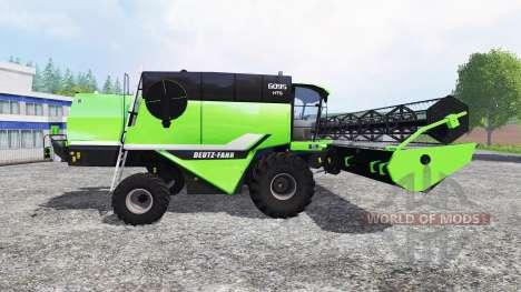 Deutz-Fahr 6095 HTS v1.3 for Farming Simulator 2015