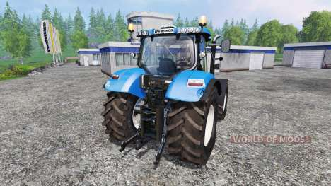 New Holland T7.240 v2.0 for Farming Simulator 2015