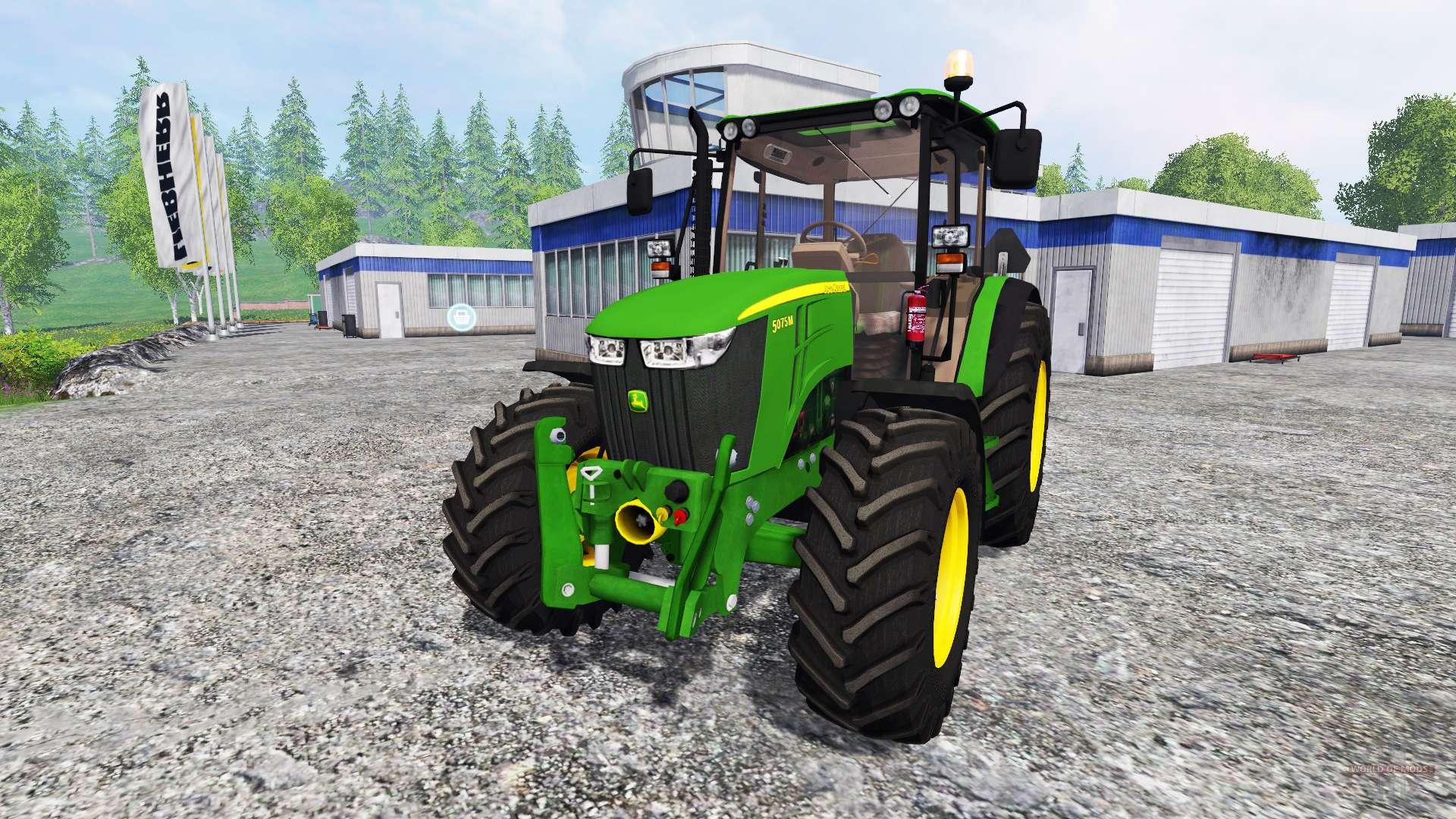 john deere 5075m for farming simulator 2015