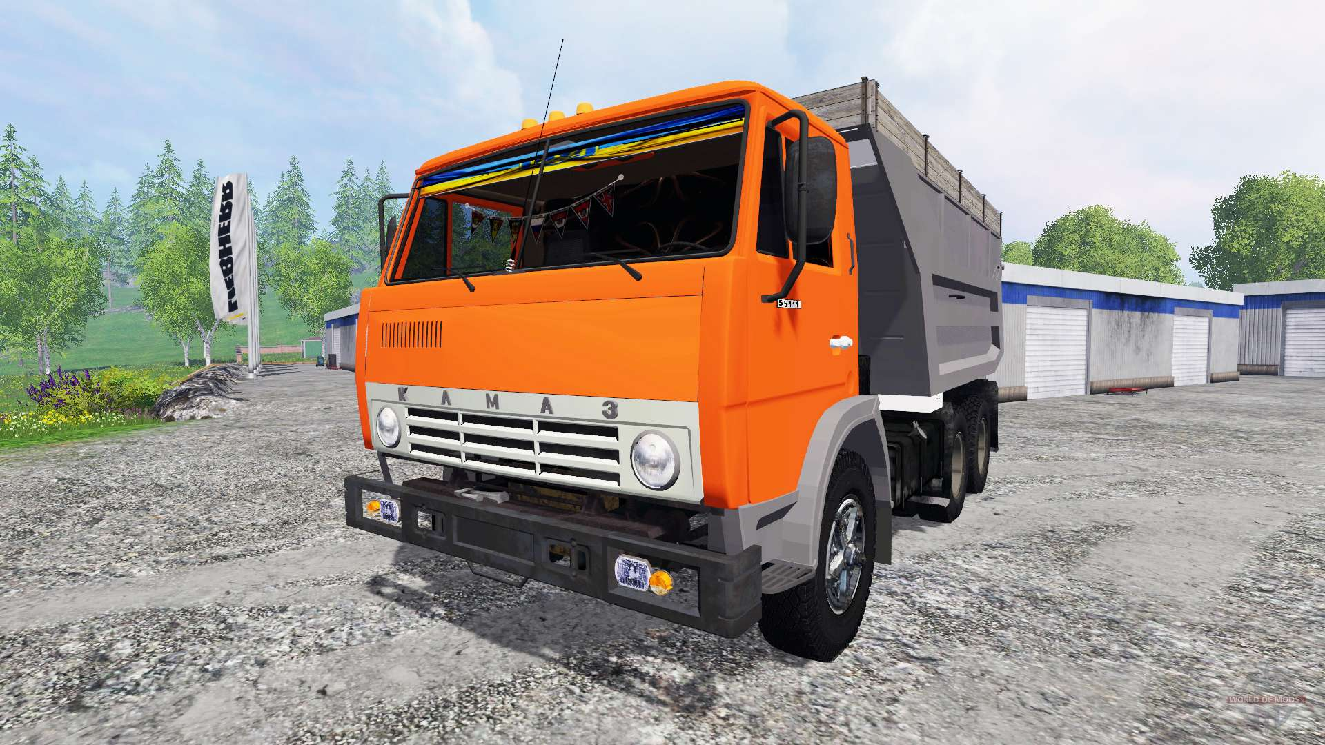 hair style simulator kamaz 55111 for farming simulator 2015 2541