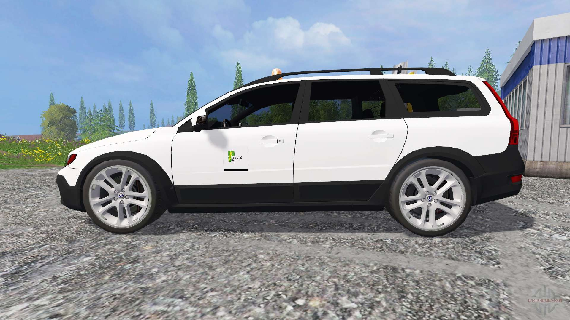 volvo xc70 d5 utility for farming simulator 2015. Black Bedroom Furniture Sets. Home Design Ideas