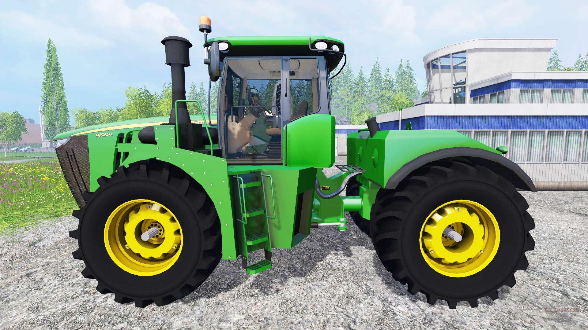 john deere 9620r pack for farming simulator 2015
