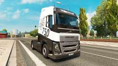 Carbonne, MIDI-pyrénées skin for Volvo truck for Euro Truck Simulator 2