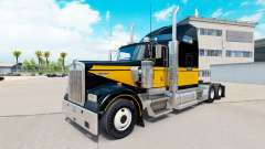 Skin Bandit Style on the truck Kenworth W900 for American Truck Simulator