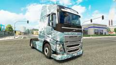 Ice Road skin for Volvo truck for Euro Truck Simulator 2
