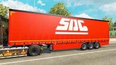 Curtain semi-trailer SDC v2.0 for Euro Truck Simulator 2
