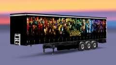 Skin League of Legends trailer for Euro Truck Simulator 2