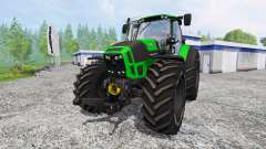 Deutz-Fahr Agrotron 7250 TTV [krone] for Farming Simulator 2015