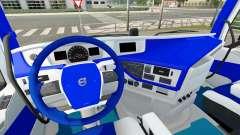 HSV interior for Volvo for Euro Truck Simulator 2