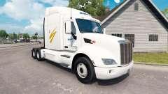 Swift Transportation skin for the truck Peterbilt for American Truck Simulator