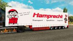 Krone curtain semi-trailer Hamprecht for Euro Truck Simulator 2