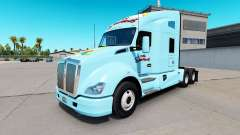 Skin The Simpsons on a Kenworth tractor for American Truck Simulator