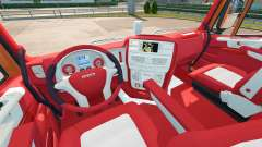 The Bayern interior for Iveco Hi-Way for Euro Truck Simulator 2