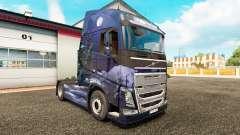 Winter Wolves skin for Volvo truck for Euro Truck Simulator 2
