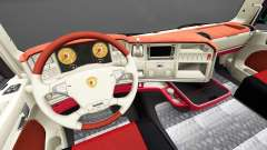 Interior FC Augsburg for Scania for Euro Truck Simulator 2