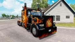 Skins Big Bang on the truck Peterbilt 389 for American Truck Simulator